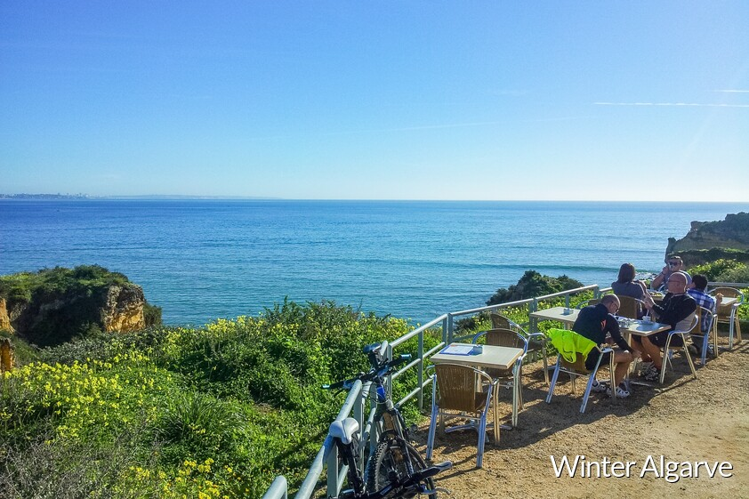 January in the Algarve in Portugal