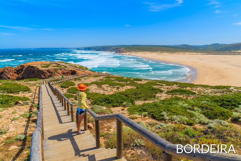 Bordeira beach