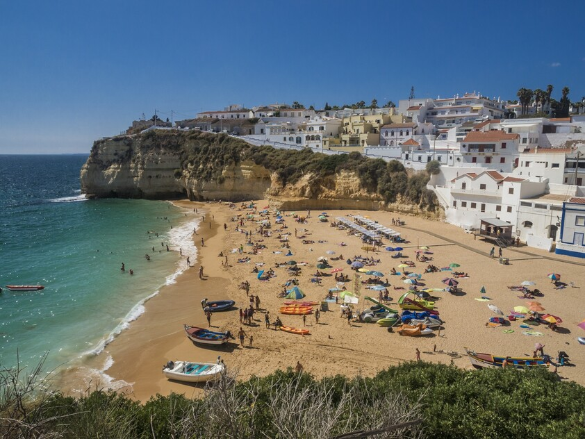 history of the origin of the name of Carvoeiro, Portugal