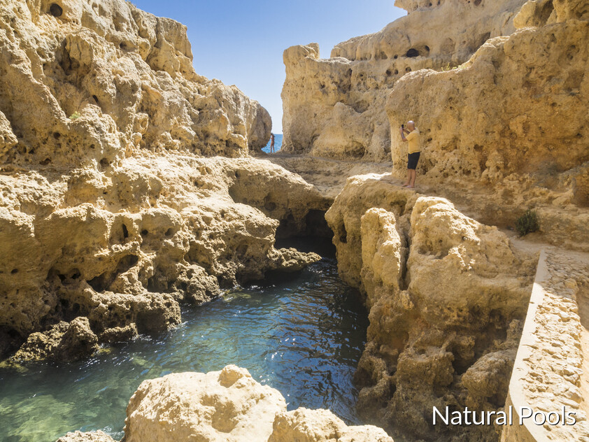 Natural pools of Carvoeiro