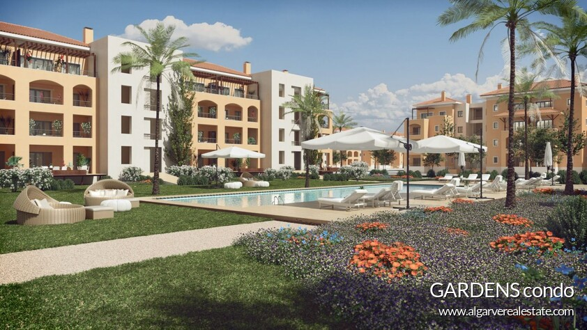 common areas of the condominium Gardens vilamoura apartments
