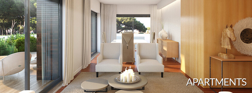 Flats for sale in condo L'orangerie