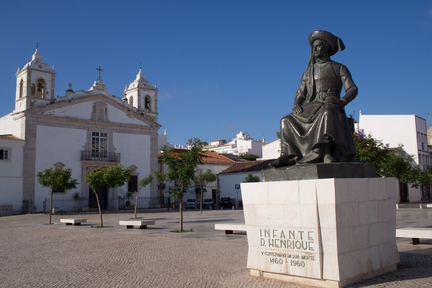 Statue of Infante Dom Henrique in Lagos