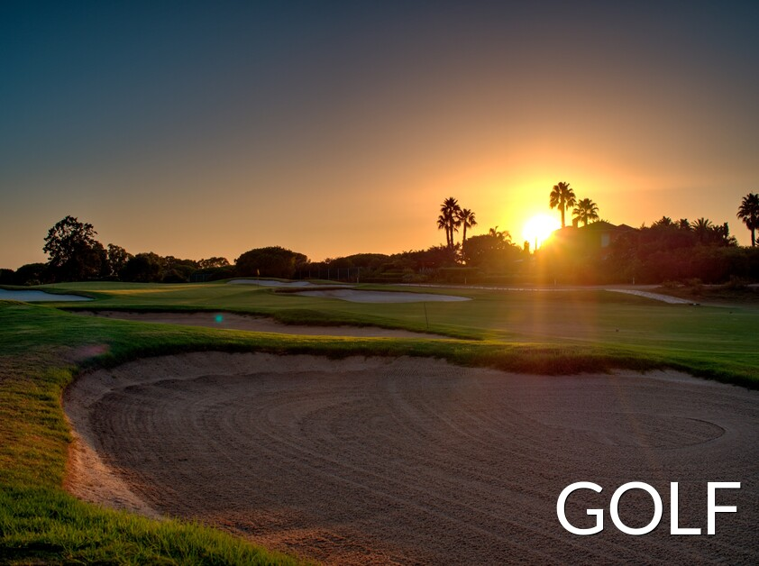 The municipality of Loulé has many Golf courses of high quality