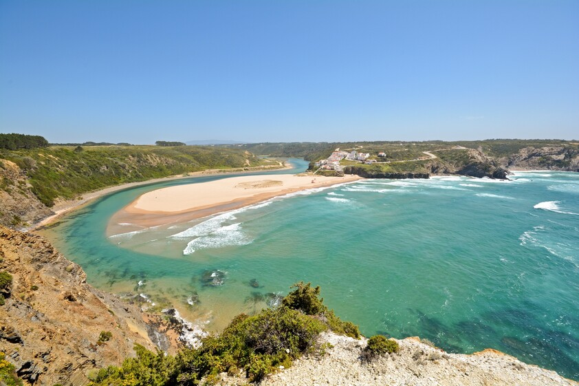 the beach of Odeceixe, Aljezur - Portugal, Algarve