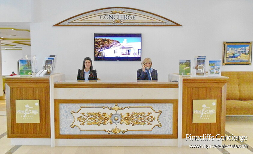 Pinecliffs has Concierge service avaliable