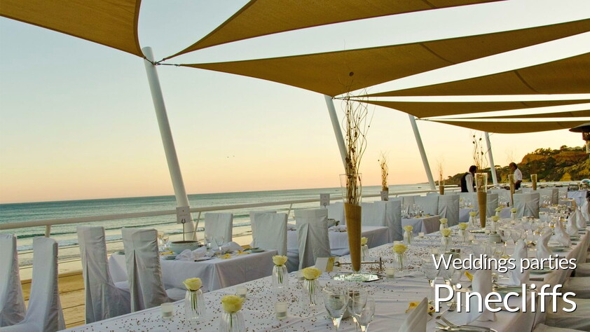 Weddings parties at the Pinecliffs resort