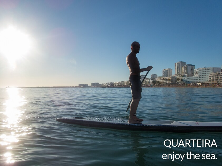 Watersports in Quarteira
