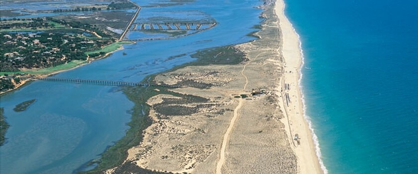 Beaches of Quinta do Lago and Ria Formosa