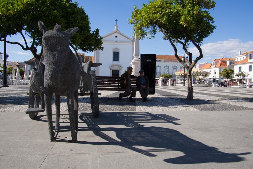 Art on the street in Vila Real de Santo António