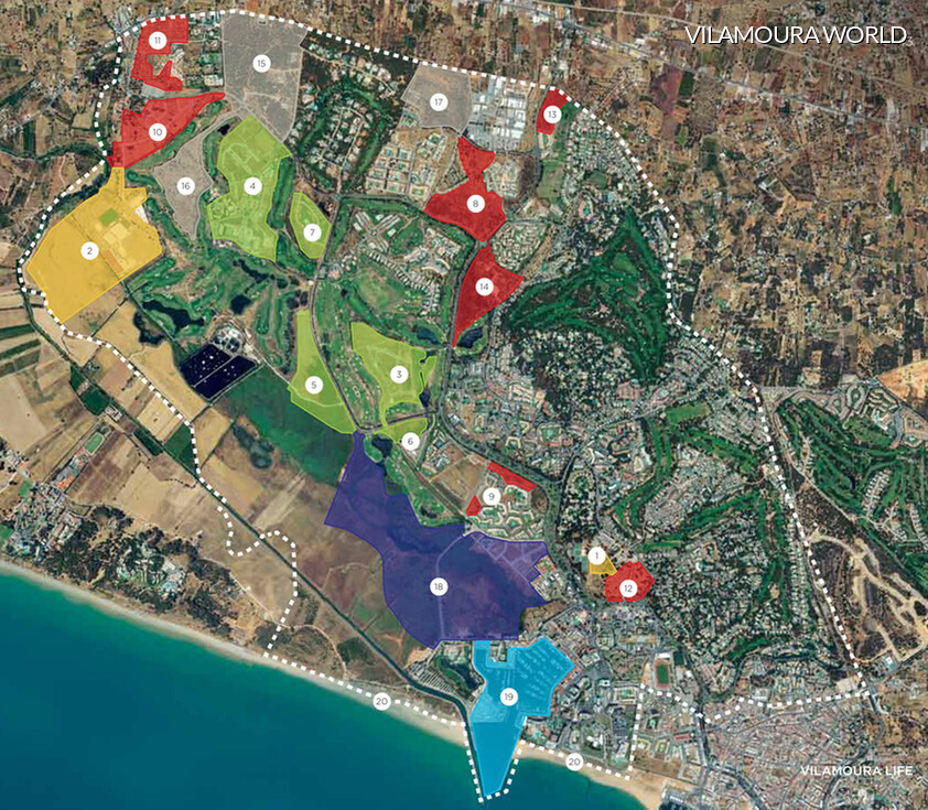 Vilamoura World map, the new project