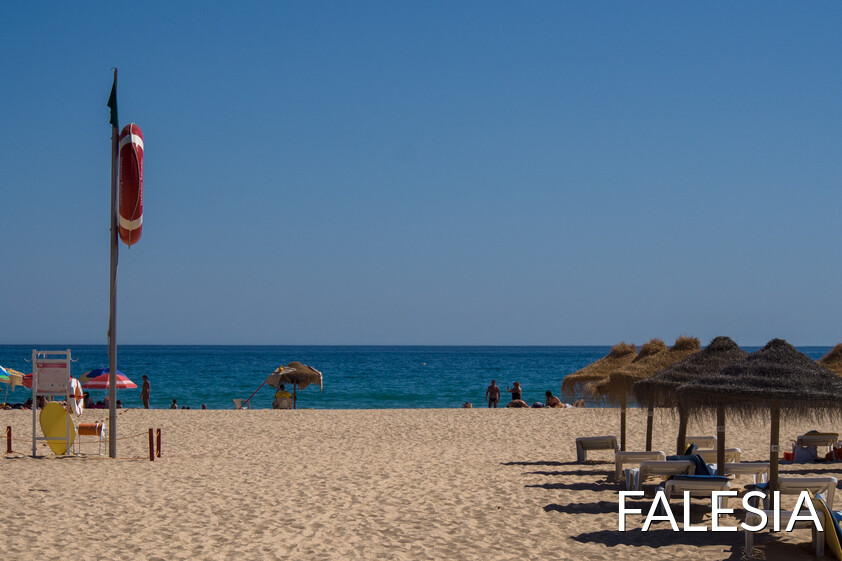 Falésia beach in Vilamoura