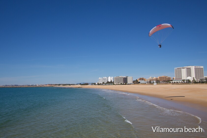 beach of Vilamoura