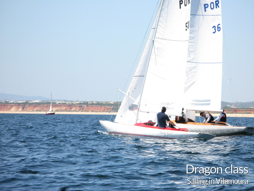 sailing in vilamoura