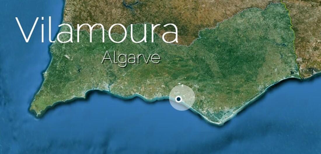 Vilamoura Algarve Portugal Vilamoura - Portugal map vilamoura