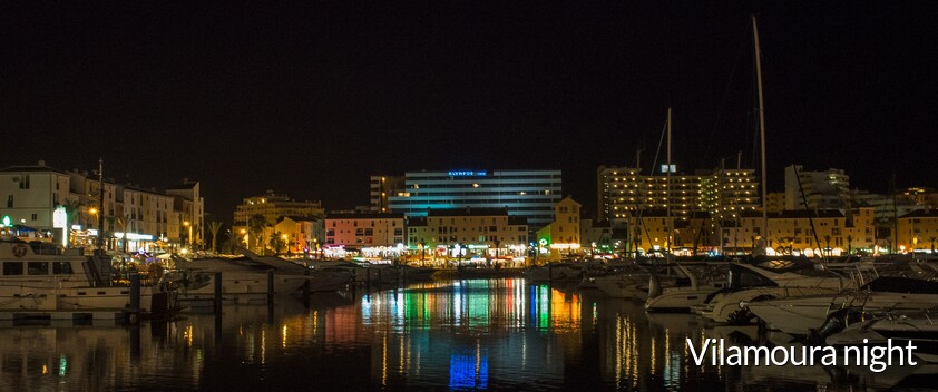 Vilamoura night