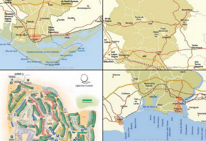 Algarve Maps