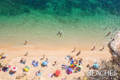 133 Beaches of the Algarve, Portugal