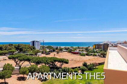 THE5 - Apartments with sea views in Quarteira
